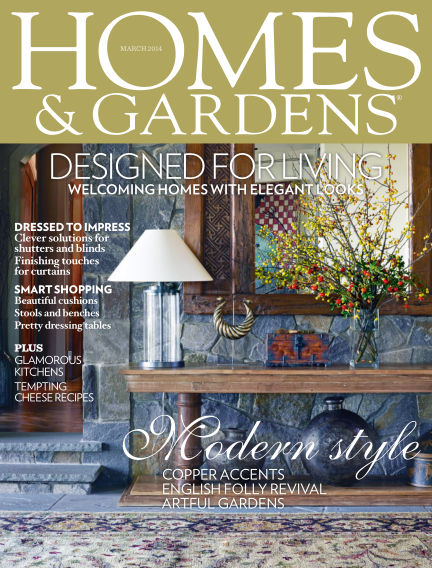 Homes and Gardens - UK March 06, 2014 00:00