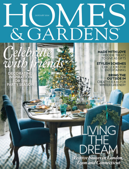 Homes and Gardens - UK December 31, 2013 00:00