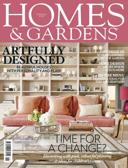 Homes and Gardens - UK May 29, 2014 00:00