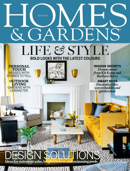 Homes and Gardens - UK July 03, 2014 00:00