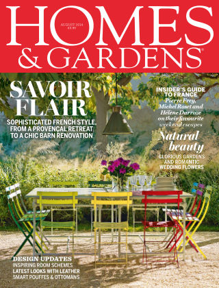 Homes and Gardens - UK August 2014