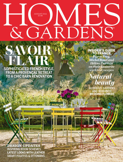 Homes and Gardens - UK July 31, 2014 00:00