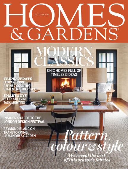 Homes and Gardens - UK October 02, 2014 00:00
