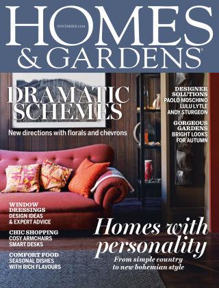 Homes and Gardens - UK November 2014