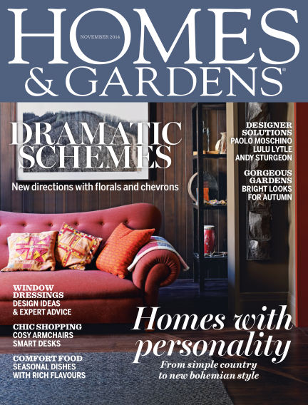Homes and Gardens - UK October 30, 2014 00:00