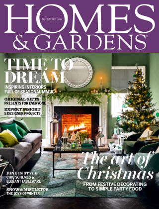 Homes and Gardens - UK December 2014