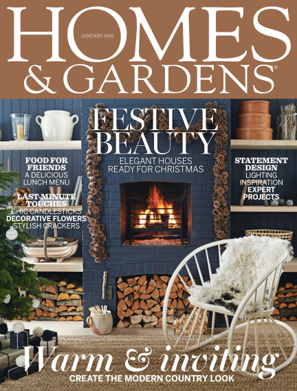 Homes and Gardens - UK January 02, 2015 00:00