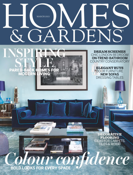 Homes and Gardens - UK March 05, 2015 00:00