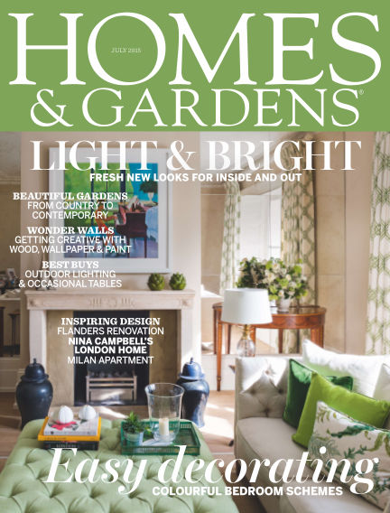 Homes and Gardens - UK July 09, 2015 00:00