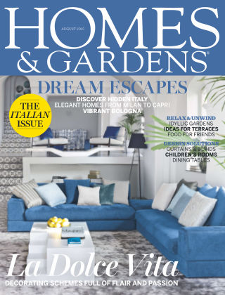 Homes and Gardens - UK August 2015