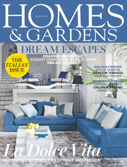 Homes and Gardens - UK August 06, 2015 00:00