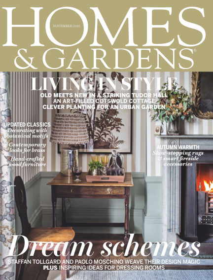 Homes and Gardens - UK October 29, 2015 00:00