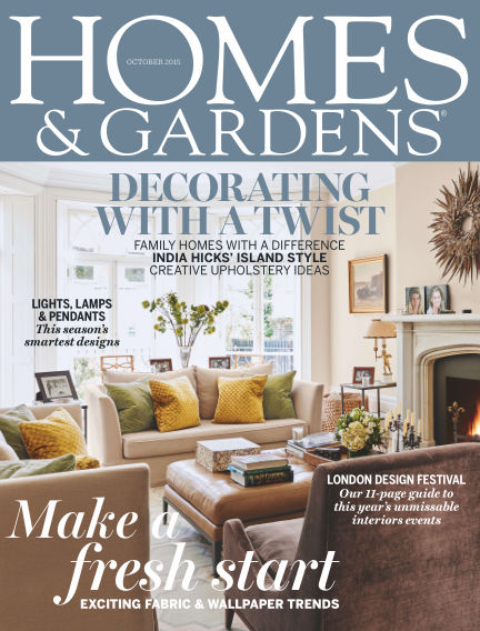 Homes and Gardens - UK October 01, 2015 00:00