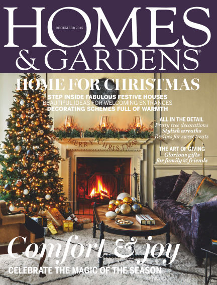 Homes and Gardens - UK December 03, 2015 00:00