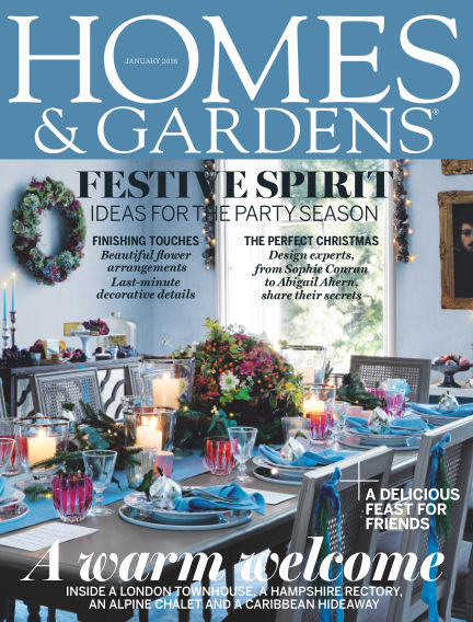 Homes and Gardens - UK January 07, 2016 00:00