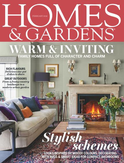 Homes and Gardens - UK February 04, 2016 00:00