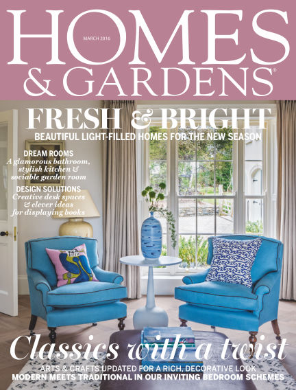 Homes and Gardens - UK March 03, 2016 00:00