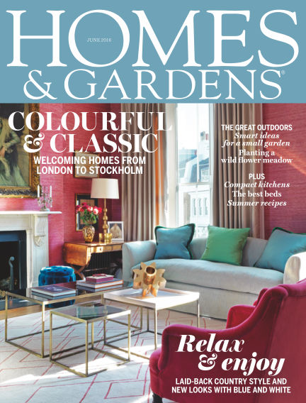 Homes and Gardens - UK April 28, 2016 00:00