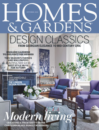 Homes and Gardens - UK October 2016