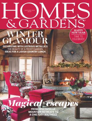 Homes and Gardens Magazine - UK Jan 2018