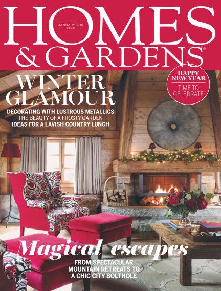 Homes and Gardens - UK November 30, 2017 00:00