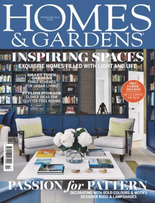 Homes and Gardens - UK Feb 2018