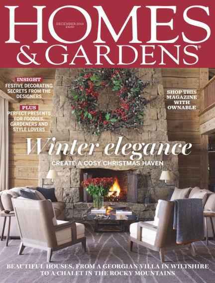 Homes and Gardens - UK November 01, 2018 00:00