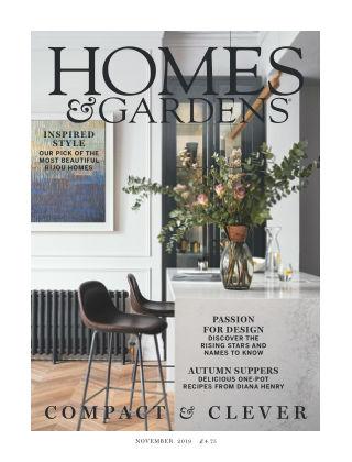 Homes and Gardens - UK Nov 2019