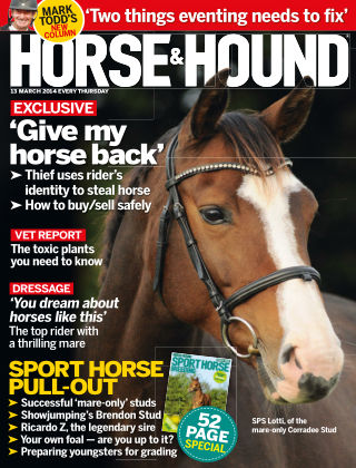 Horse & Hound 13th March 2014