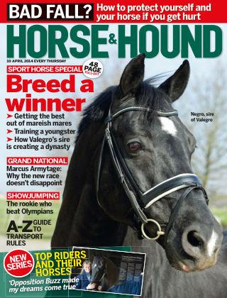 Horse & Hound 10th April 2014