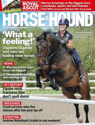 Horse & Hound 26th June 2014