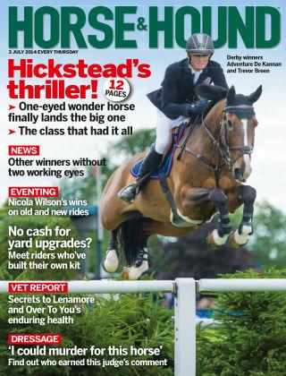 Horse & Hound 3rd July 2014