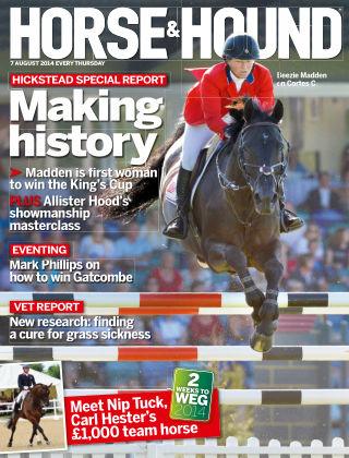 Horse & Hound 7th August 2014