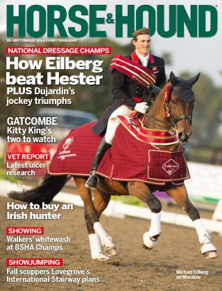 Horse & Hound 25th September 2014