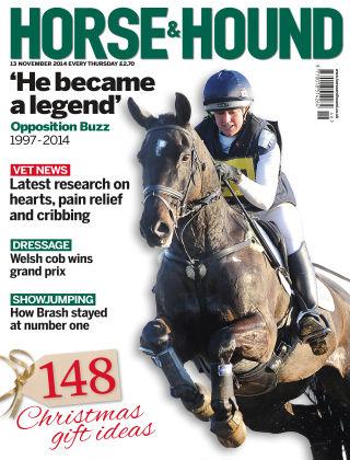 Horse & Hound 13th November 2014