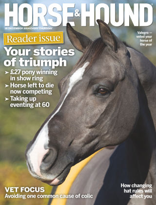 Horse & Hound 18th December 2014
