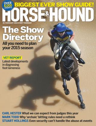 Horse & Hound 26th February 2015