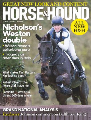 Horse & Hound 16th April 2015