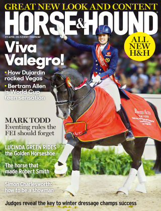Horse & Hound 23rd April 2015