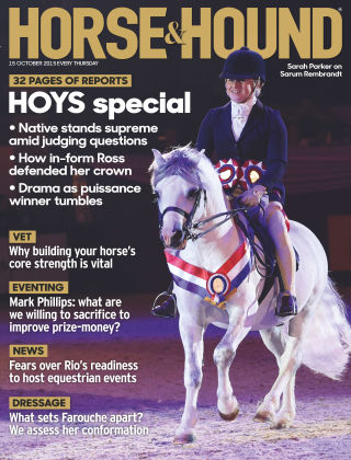 Horse & Hound 15th October 2015