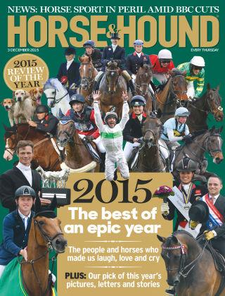 Horse & Hound 3rd December 2015