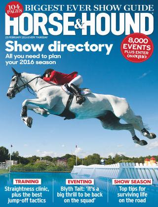 Horse & Hound 25th February 2016