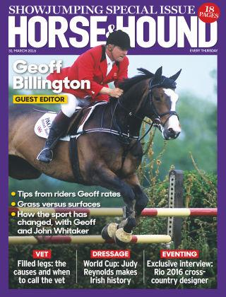 Horse & Hound 31st March 2016