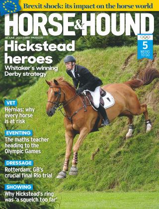 Horse & Hound 30th June 2016