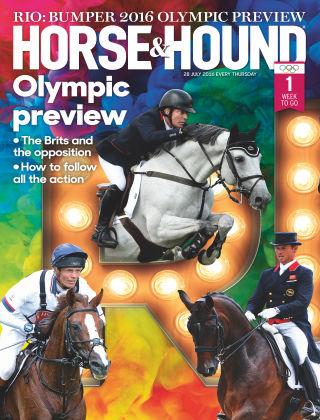 Horse & Hound 28th July 2016