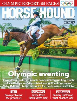 Horse & Hound 11th August 2016