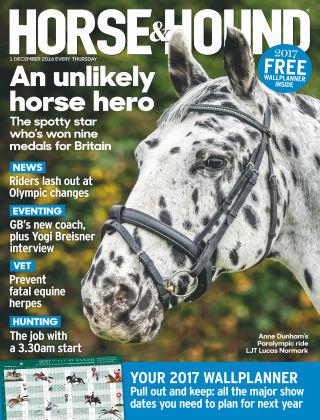Horse & Hound 1st December 2016