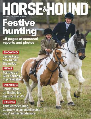 Horse & Hound 5th January 2017