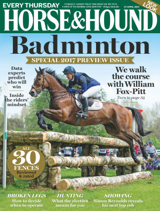 Horse & Hound Magazine 27th April 2017