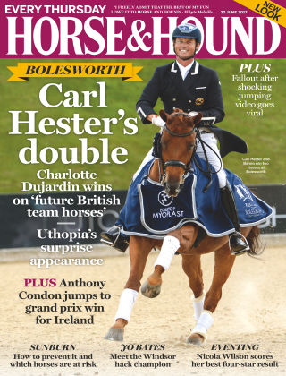 Horse & Hound Magazine 22nd June 2017